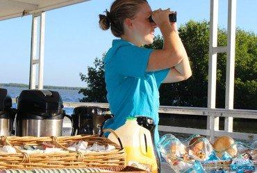 Image of the breakfast cruise at Tarpon Bay Explorers
