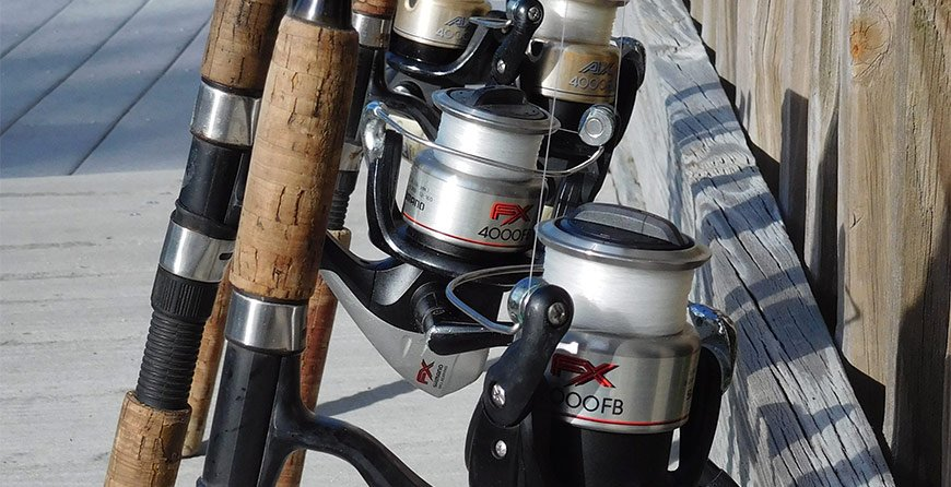 Image of fishing equipment rentals available at Tarpon Bay Explorers