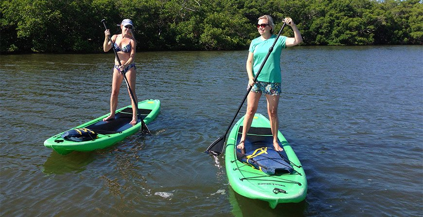 Image of Standup Paddleboards at Tarpon Bay Explorers