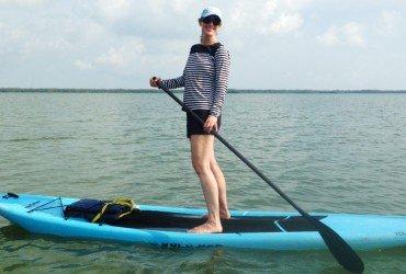 Image of a standup paddleboard at Tarpon Bay Explorers