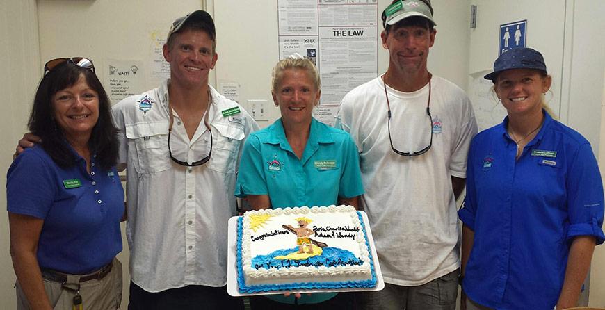 Image of the staff at Tarpon Bay Explorers