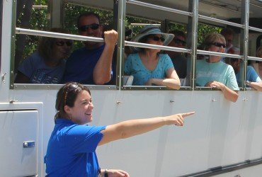 Image of refuge tram tour tour at Tarpon Bay Explorers